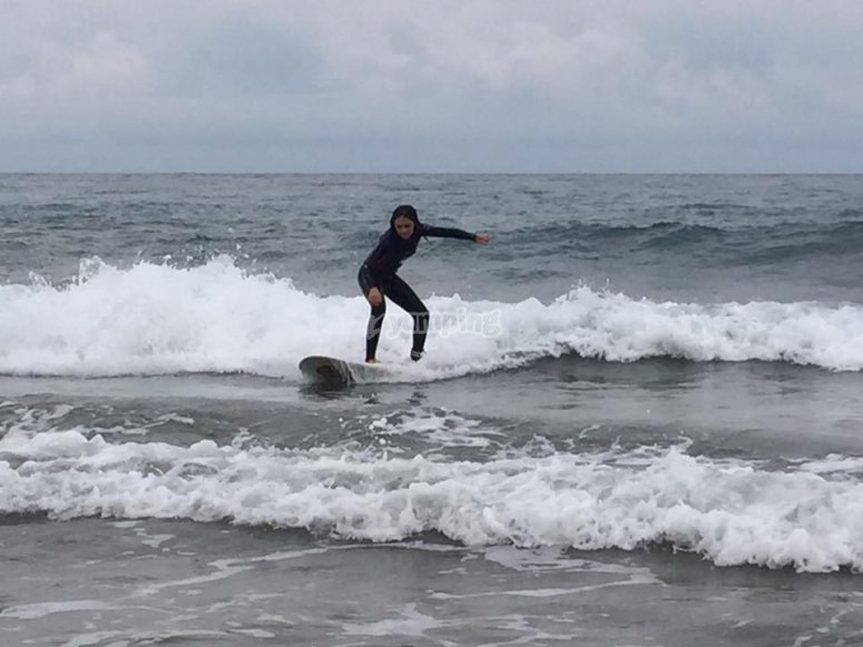 Imparando a cavalcare le onde