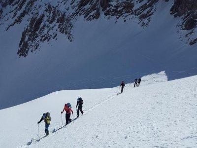 Corso di sci alpinismo, Piemonte-Val D'Aosta