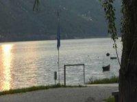 Pesca sul lago Santa Croce