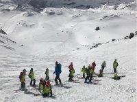 Sci in alta montagna