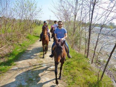 Passeggiata a cavallo di 2 ore, Campiglione Fenile
