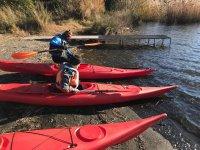Lezione privata di canoa, Castel Gandolfo