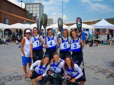 Lezione di kayak di gruppo a Castelgandolfo 1,5 h