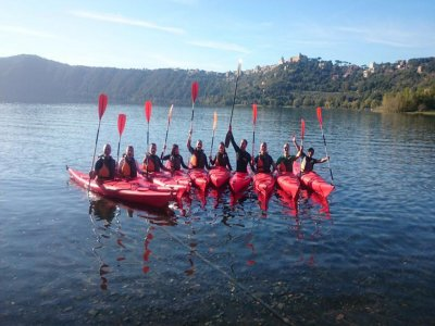 Tour in kayak Lago di Castelgandolfo di 3 ore