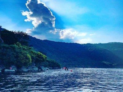 Tour enogastronomico kayak lago Castelgandolfo 3h