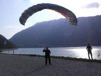 Paragliding flights