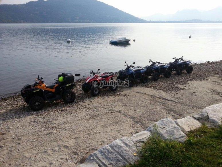 I quad al Lago Maggiore