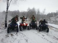 I quad sulla neve
