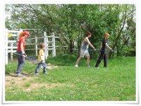 Nordic walking and orienteering