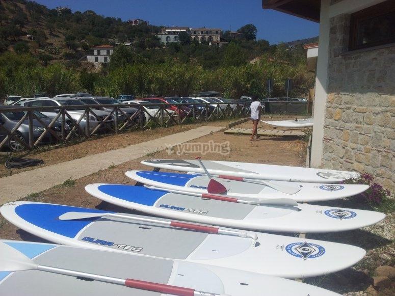Le tavole da paddle