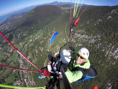Volo tandem in parapendio+video, Molvero/Rovereto