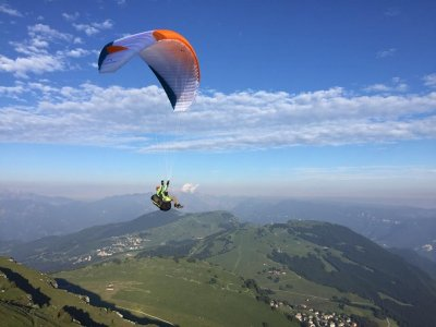 Camminata e parapendio + video, Molvero/Rovereto