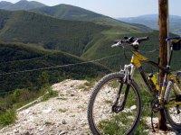 Mountainbike sul Monte Cucco