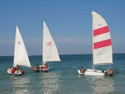 Individual sailing lesson, Vernole