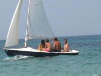 Sailboat excursion in Salento