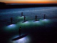 The illuminated tables