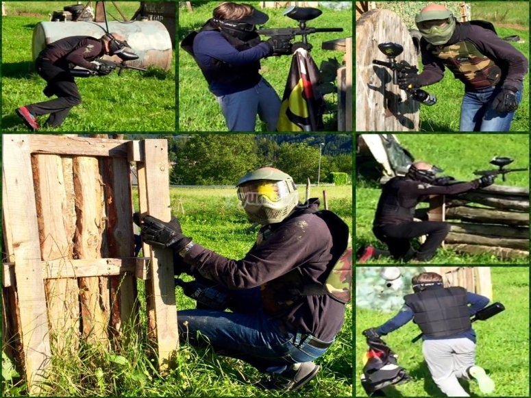 Partita di paintball