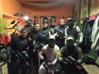 Addio al celibato con paintball