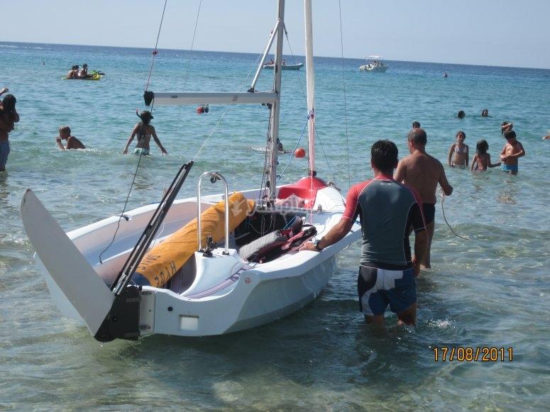 Corso base di vela