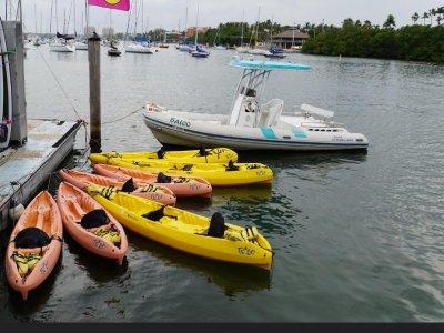 Noleggio canoa all'Isola delle Femmine 3 ore