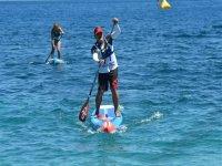 Lezione di paddle surf