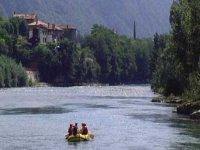 Rafting on the Brenta
