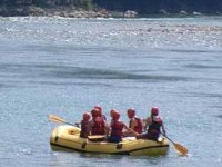 Guided by rafting masters