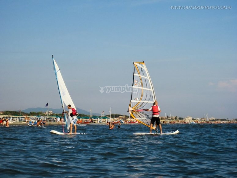 Windsurf in mare