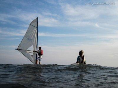 Lezione di Windsurf in gruppo (3 ore), Pietrasanta