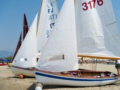 Lezione individuale di vela a Pietrasanta