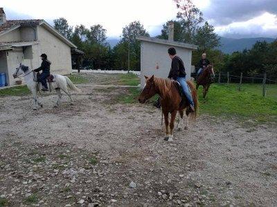 Trekking a cavallo di 4 ore ad Altilia