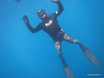 Free diving in Gallipoli