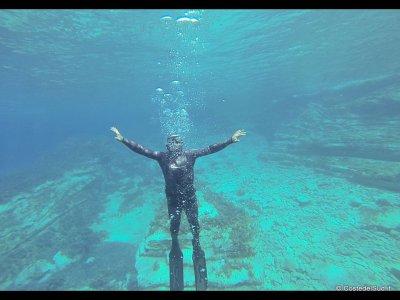 Free diving in Santa Maria di Leuca