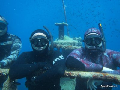 3 days of diving on the Salento coast