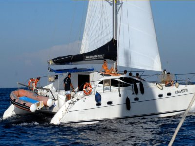 Weekend lungo in catamarano da Roma mezza stagione