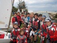 Small sailors group