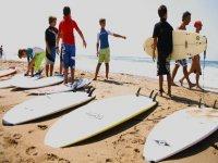 La pratica in spiaggia
