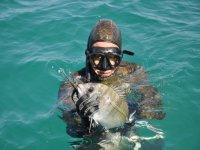 fishing for sea bream