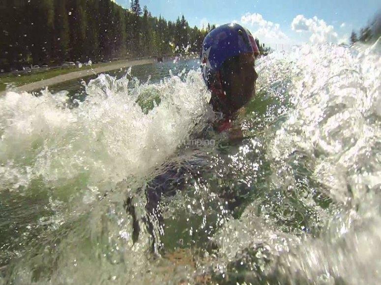 Un tuffo in acqua