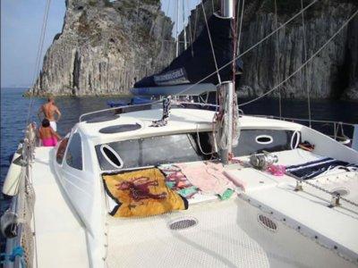 Weekend in catamarano da Roma mezza stagione