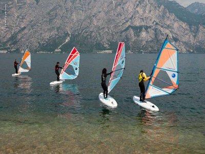 Corso prova di Windsurf (2 ore) a Malcesine