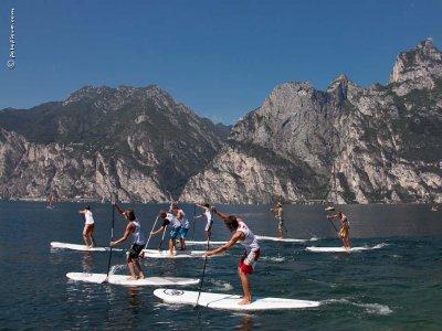 Corso di Paddle Surf di 2 ore a Malcesine