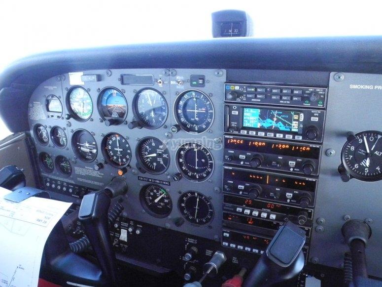 I controlli del Cessna