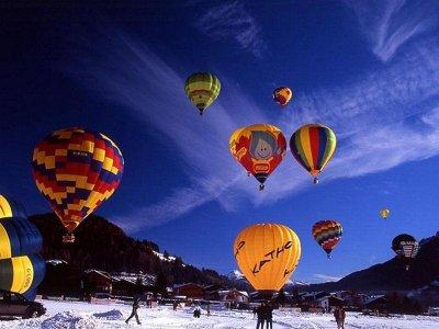 Volare in Mongolfiera Alpi