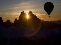 un tramonto in mongolfiera tra le Alpi, vieni a trovarci!