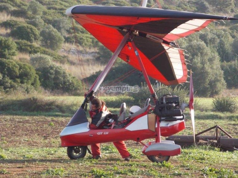 Il nostro deltaplano