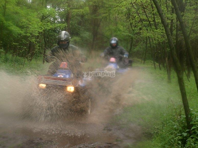 Schizzando nel fango