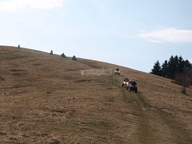 Sui pendii del Monte Grappa