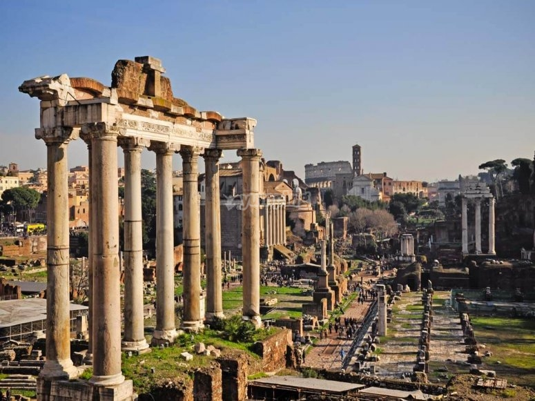The beauties of Rome