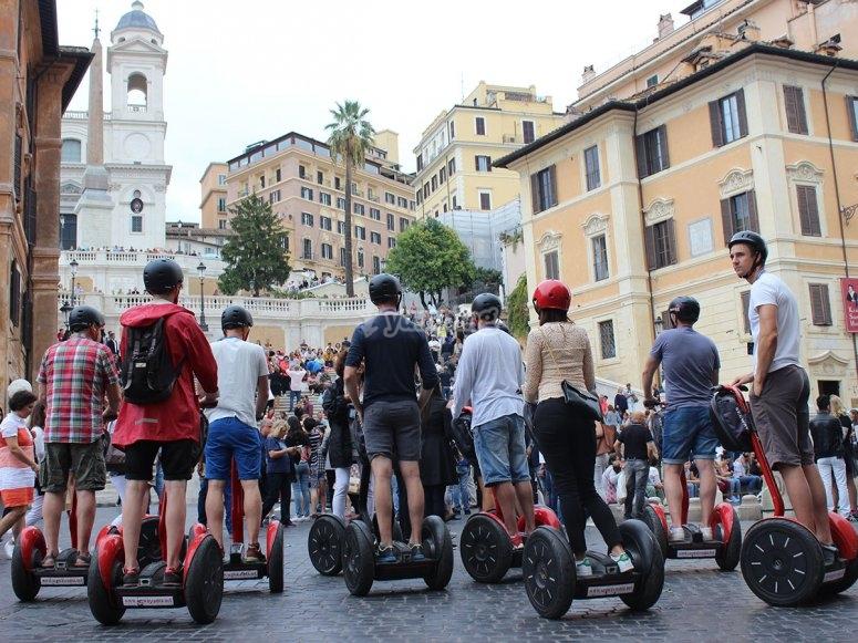 Piazza di Spagna by segway